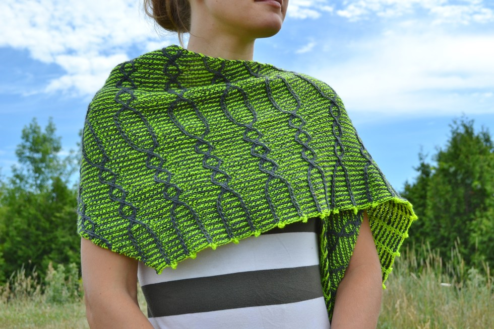 Assymetrical Shawls One and Two 2016-07-22 055