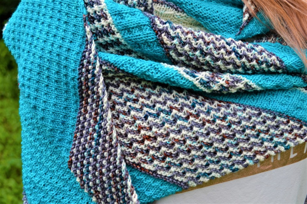 Mosaica shawl by Amanda Schwabe