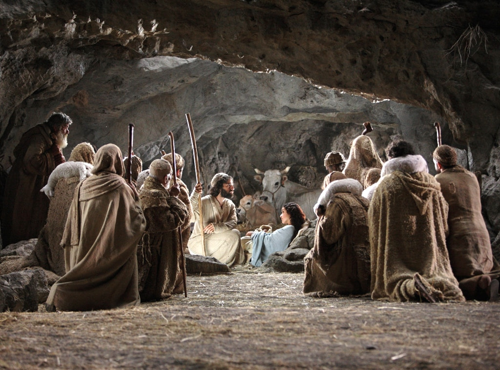 was jesus really born in a stable the shepherds