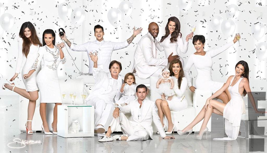 Kardashian Holiday Card, Christmas Card