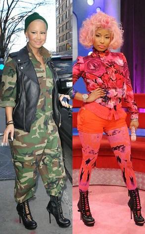 Amber Rose vs Nicki Minaj from Bitch Stole My Look