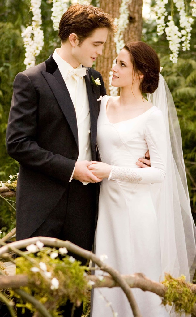 Twilight Saga: Breaking Dawn, section 1, Robert Pattinson, Kristen Stewart Wedding