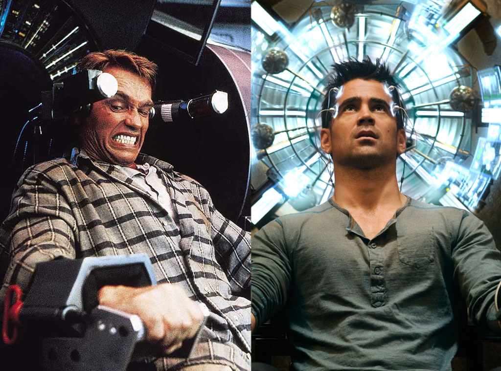 Total Recall 1990 2012 from Movie Remakes  E News