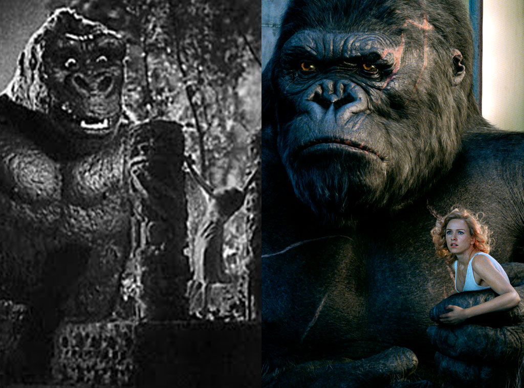 Image result for king kong 1933 vs 2005