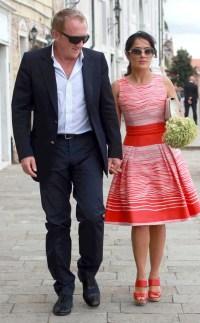 Salma Hayek & Francois-Henri Pinault from Celebrity ...