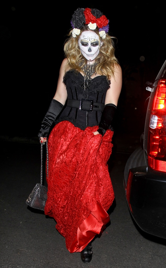 Hilary Duff from Best Celebrity Halloween Costumes  E News