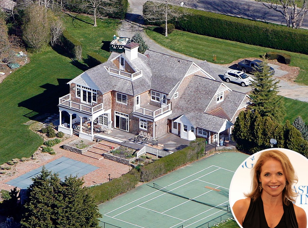 Katie Couric From Celebrity Homes In The Hamptons  E! News