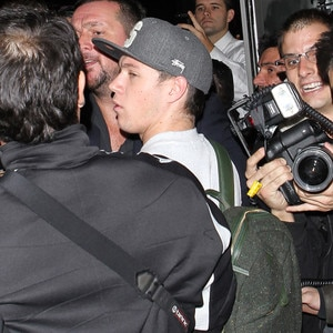 Niall Horan Dragged To The Floor As Paparazzi Swarm One