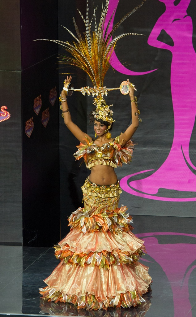 Miss Dominican Republic from 2013 Miss Universe Costume Contest  E News