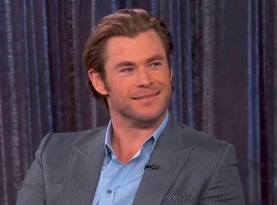 On Jimmy Kimmel Live From Chris Hemsworth S 32 Hottest
