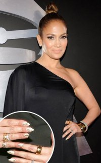 Jennifer Lopez from Great Nail Art of the 2013 Red Carpet ...