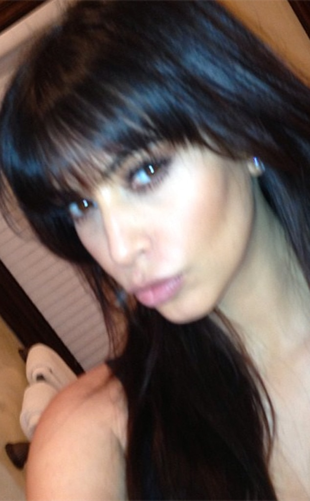 Kylie Jenner Didnt Cut BangsHeres Picture Proof She
