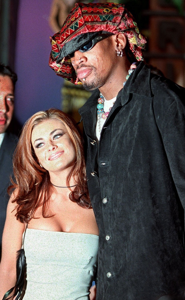 Carmen Electra  Dennis Rodman from 90s Couples You Probably Forgot About  E News