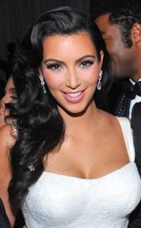 Kim's Elegant Wedding Locks from Kardashians' Best Hair ...