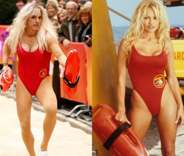Matt Lauer Vs Pamela Anderson Who Wore It Better E News