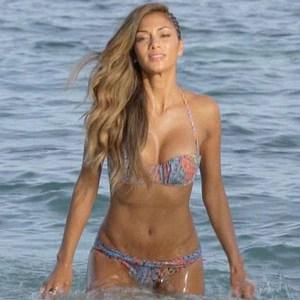Nicole Scherzinger Shows Off Hot Bikini Body on The X Factor UKSee the Pic  E News