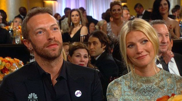 Image result for picture of chris martin and gwyneth paltrow