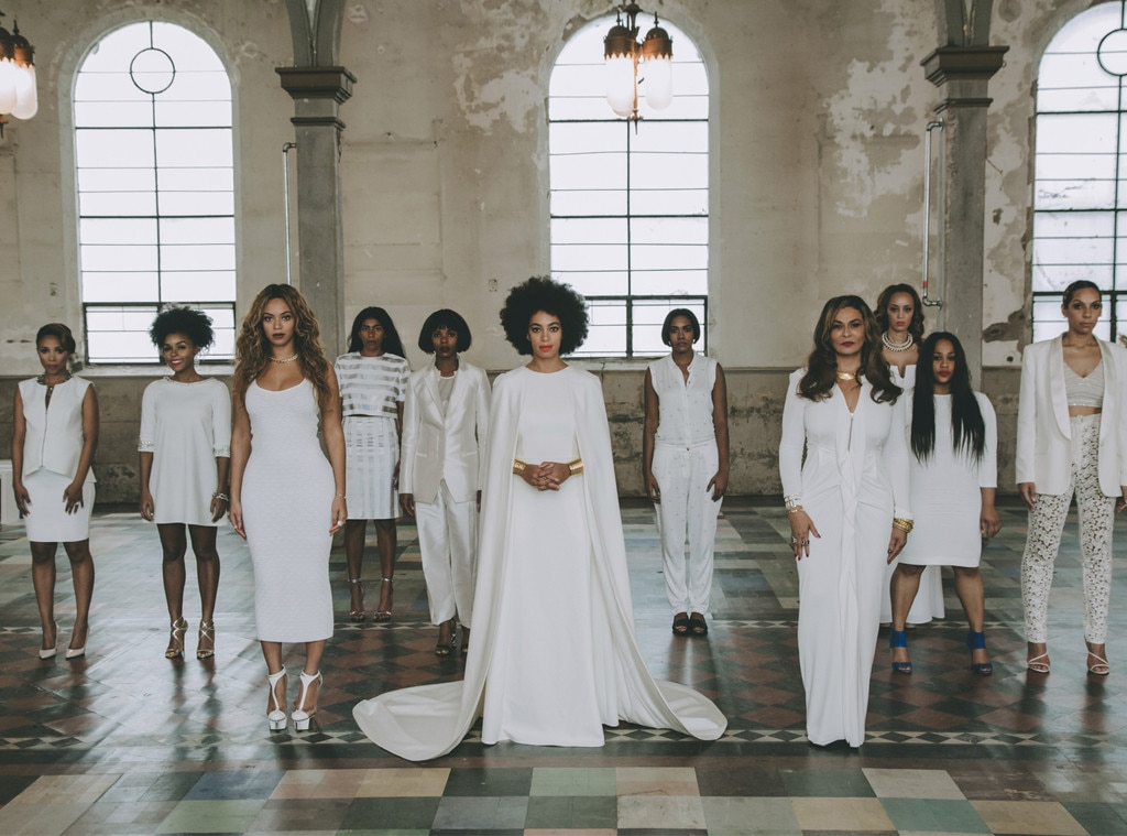 Beyonce And Solange Knowles Wedding Looks Revealed E Online