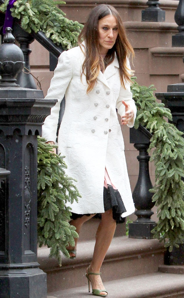 Sarah Jessica Parker Opens Up Her Stylish NYC Brownstone