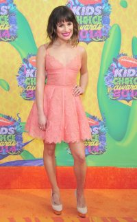 Lea Michele from 2014 Kids' Choice Awards: Red Carpet ...