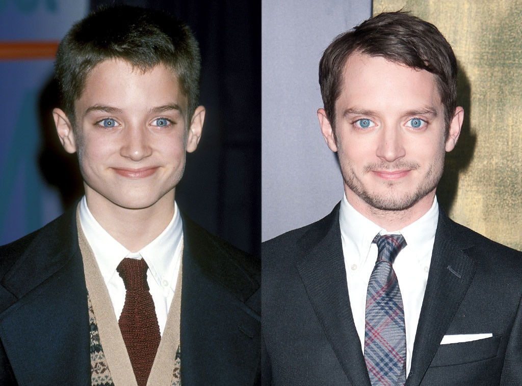 Image result for Elijah Wood then and now