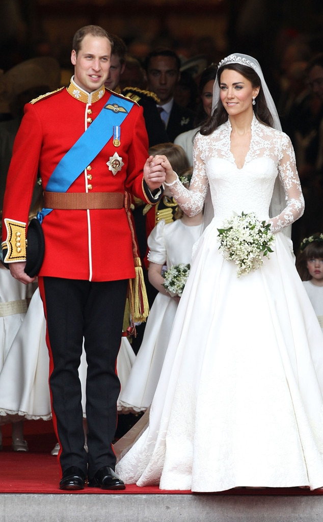 Royal Wedding from Prince Williams Family Album  E News