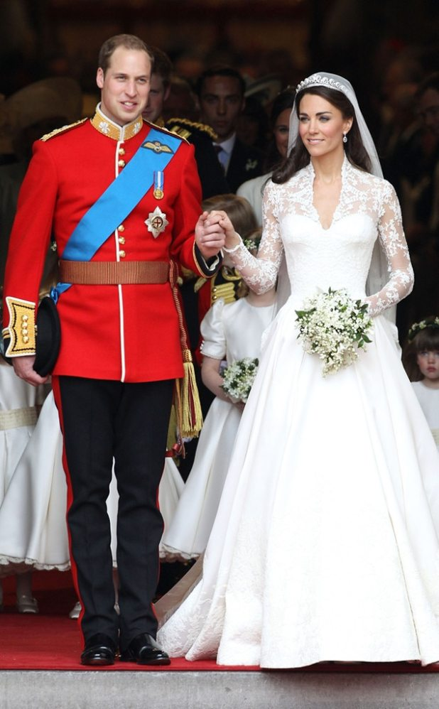 Prince William, Kate Middleton, Duchess Catherine, Wedding, Iconic Celeb Photos