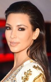 kim kardashian's wedding hairstyles