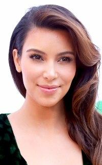 Pics For > Kim Kardashian Wedding Hair