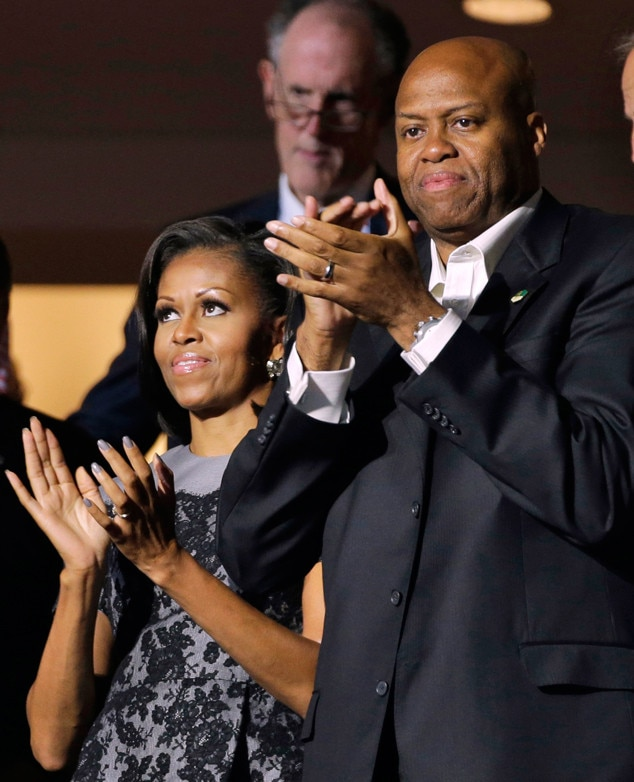 Michelle Obama39s Brother Craig Robinson Fired as Oregon