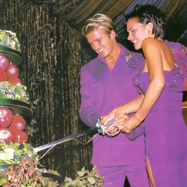 Image result for victoria beckham wedding 600x600