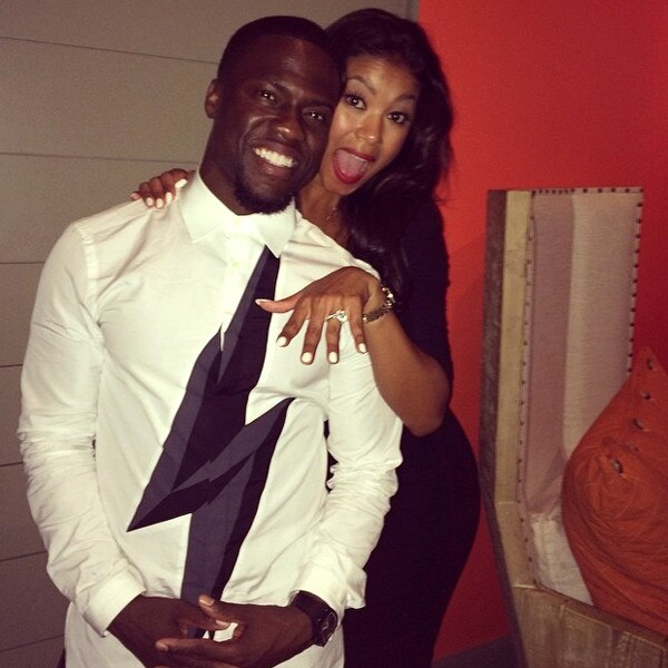 Kevin Hart Engaged to Girlfriend Eniko Parrish - E! Online