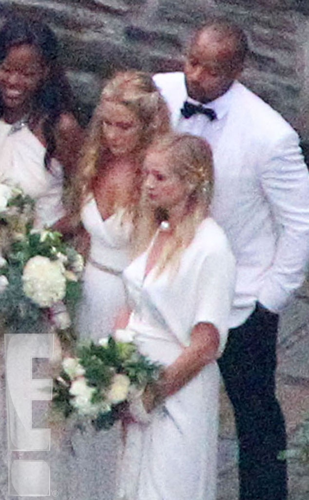 Bridesmaids and Groomsmen from Ashlee Simpson and Evan Ross Wedding Photos  E News