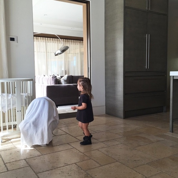 Kourtney Kardashian Shares New Pic of Baby Reign Steps