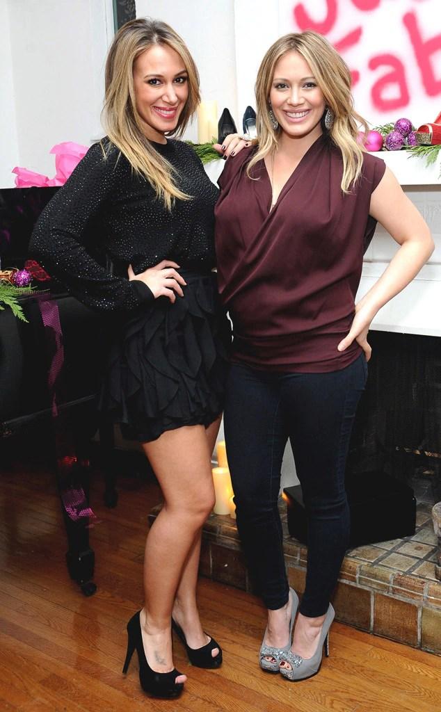 Haylie Duff Hilary Duff Celeb Sisters