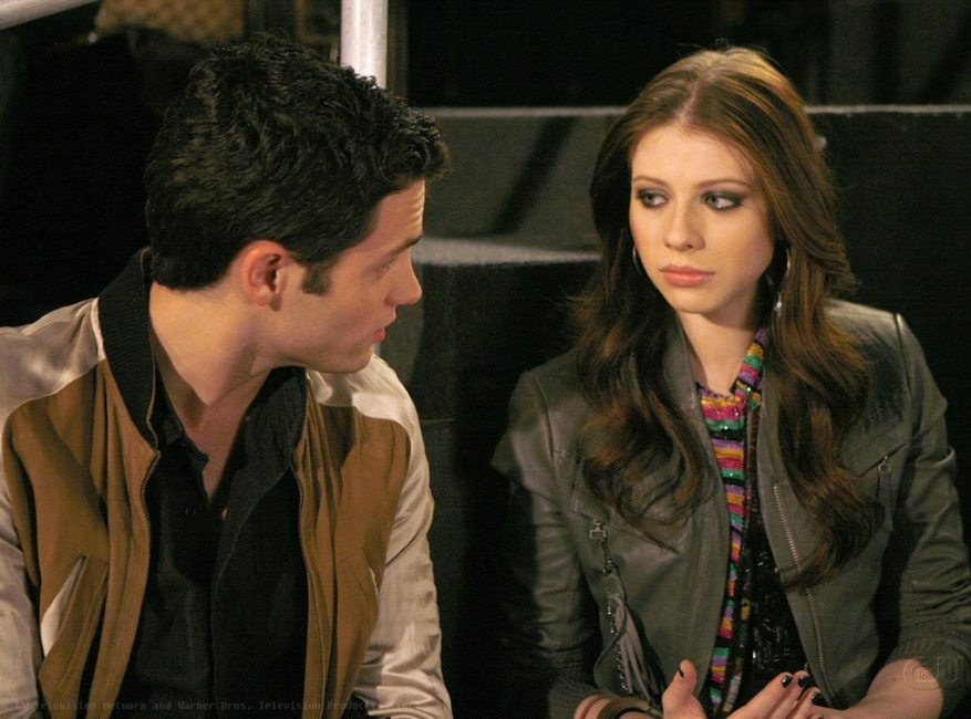 Gossip Girl Couples, Penn Badgley, Michelle Tratchenberg