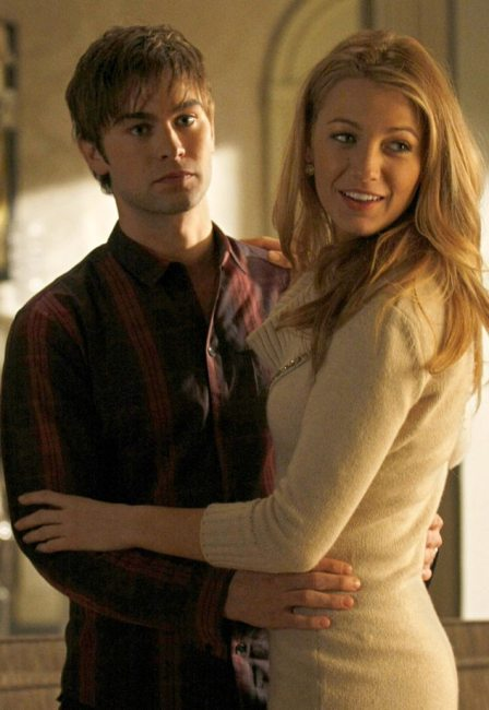 Gossip Girl Couples, Chace Crawford, Blake Lively