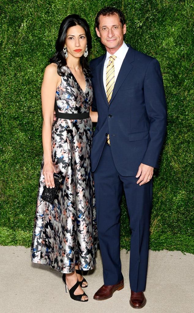 Huma Abedin, Anthony Weiner, CFDA/Vogue Fashion Fund Awards