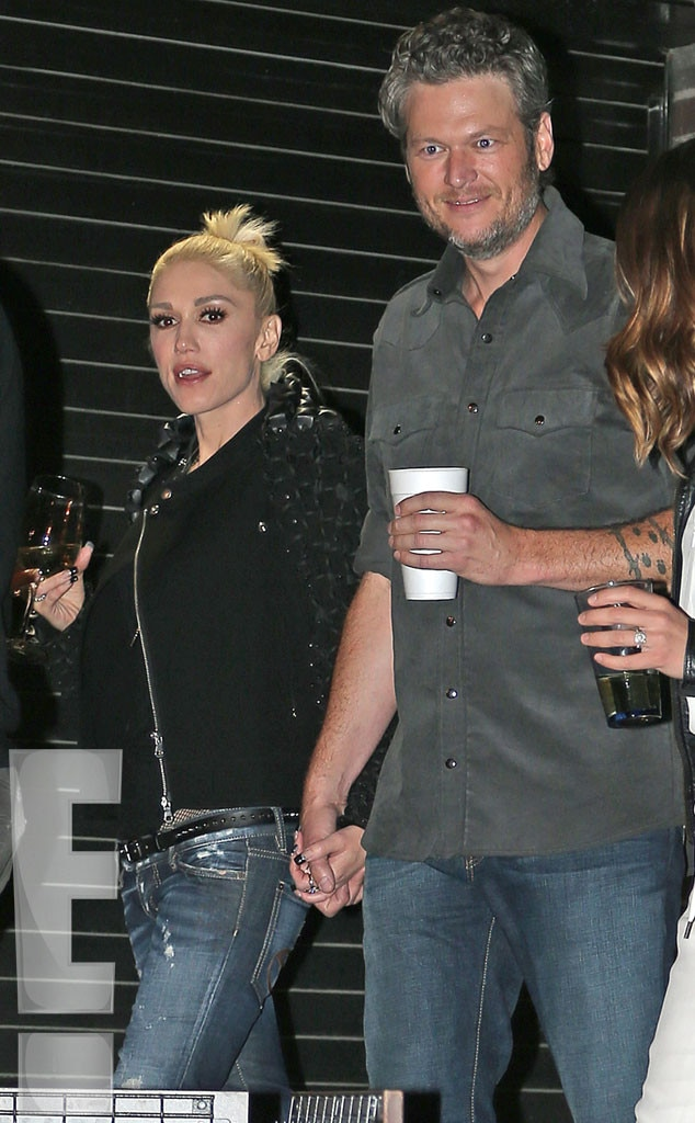 Adam Levine Calls New Couple Blake Shelton and Gwen