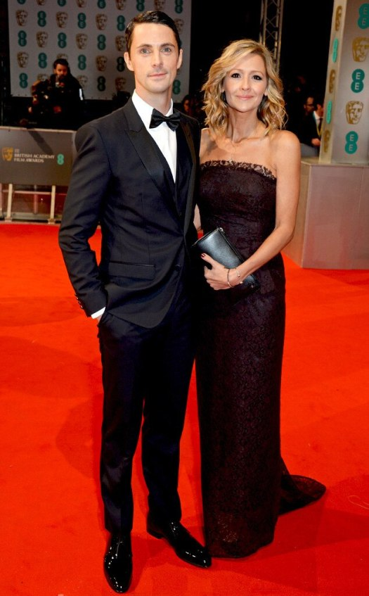 Matthew Goode & Sophie Dymoke from 2015 BAFTA Film Awards ...