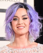 lavender haired katy perry hits