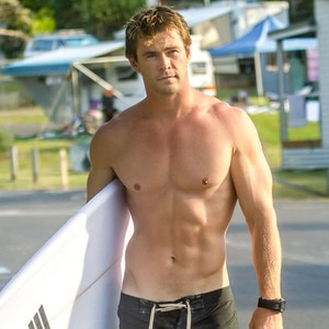 Image result for chris hemsworth abs
