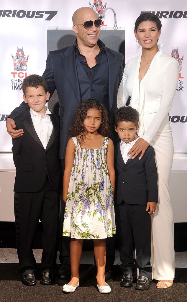 pix Vin Diesel Family see vin diesel and his family at his
