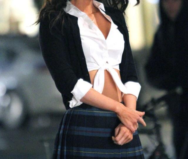 Megan Fox Is Sexy Schoolgirl For Teenage Mutant Ninja Turtles