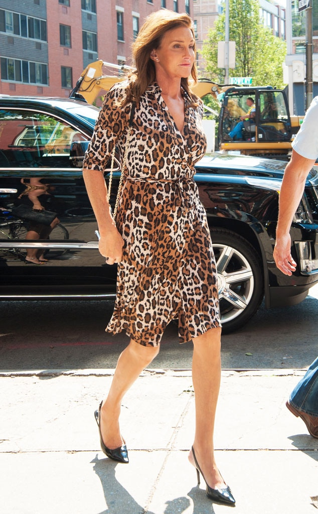 Caitlyn  the City from Caitlyn Jenner in DVF  E News