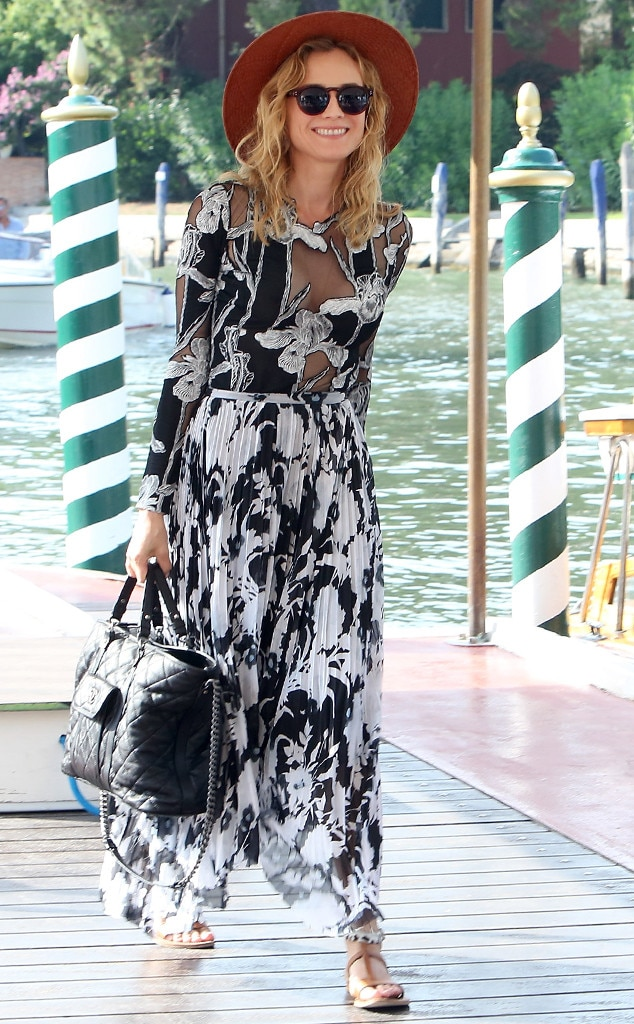 Ciao Bella from Diane Krugers Street Style  E News