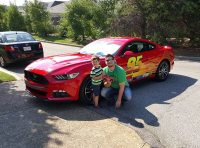 Single Father Surprises Son With Real-Life Lightning ...