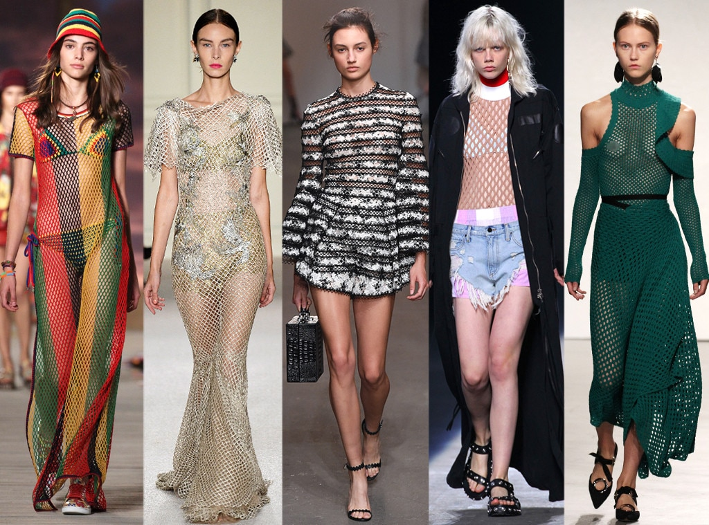 Netting  Mesh from Biggest Trends at New York Fashion