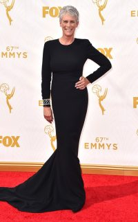 Jamie Lee Curtis from 2015 Emmys: Red Carpet Arrivals | E ...