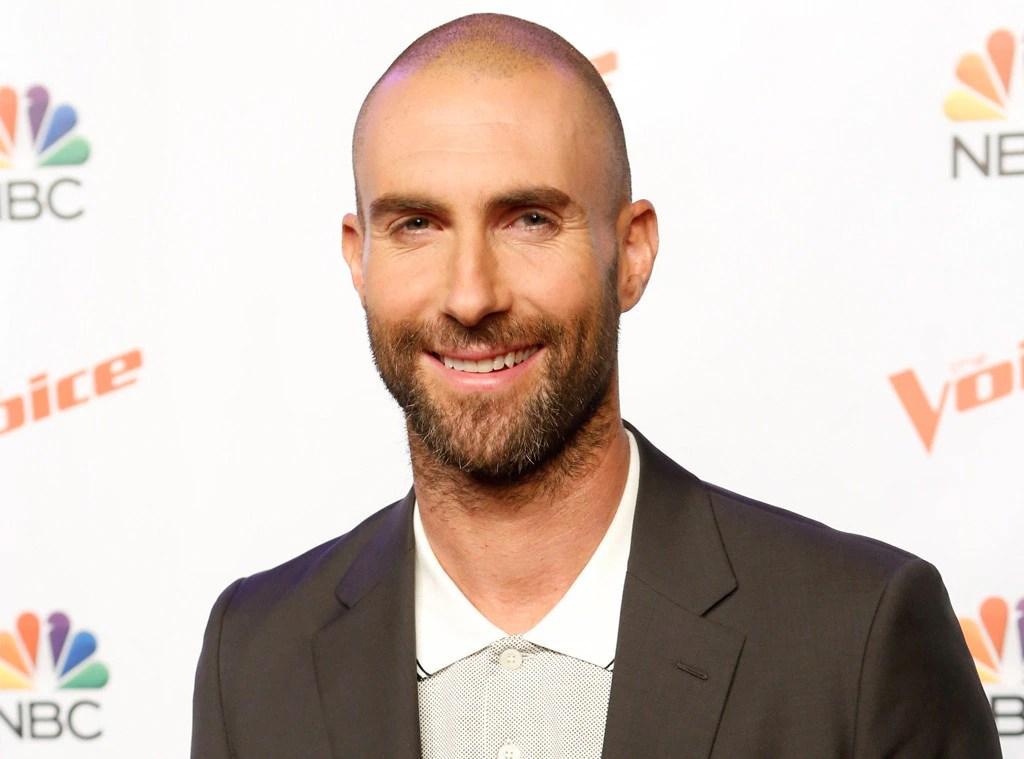 Adam Levines Bald Head Causes Total Heartbreak On Twitter
